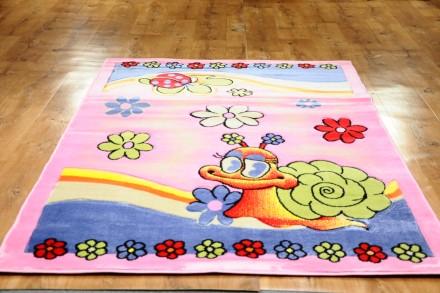 Dywan Ślimak różowy