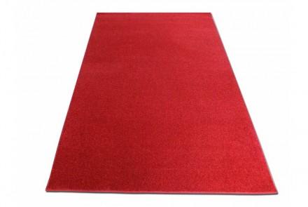 Dywan Jednobarwny Portofino czerwony