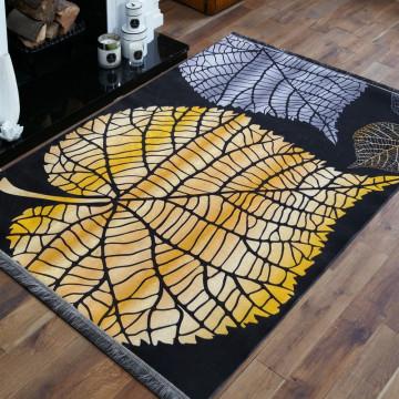 Dywan złoty liść
