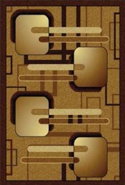 Ramka z kwadratów brąz