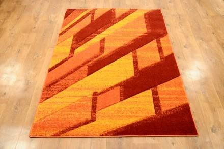 Dywan Ściana pomarańczowy