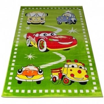 Dywan Cars Zielone