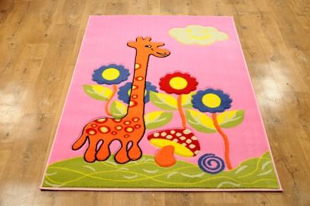 Dywan Żyrafa Różowa