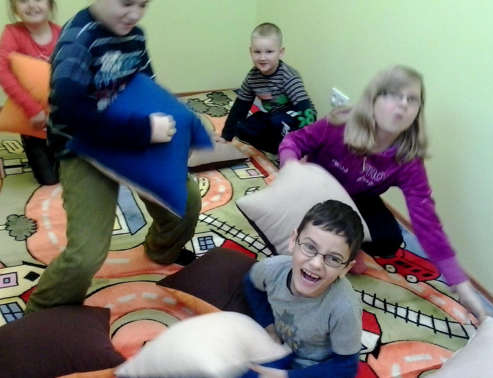Świetlica Wiejsca Skąpem, Pomoc Świetlicy, pomoc dzieciom