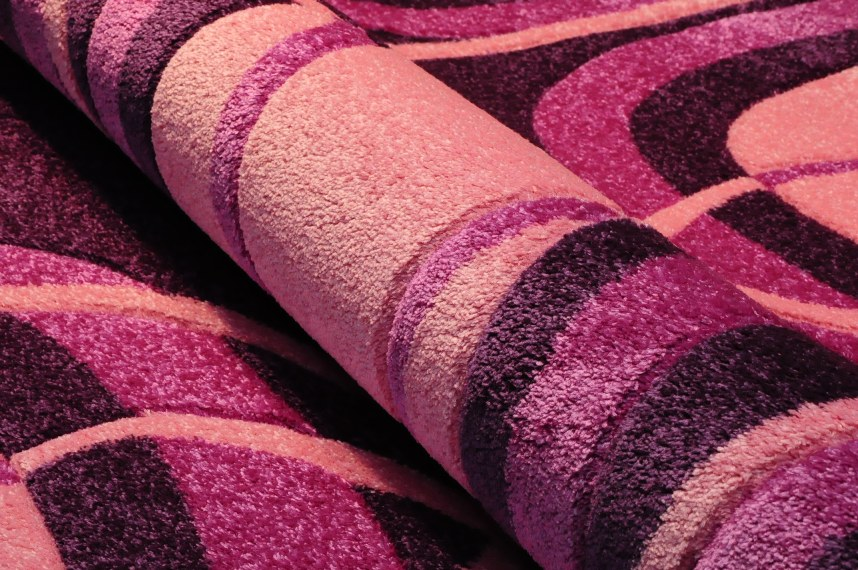 Dywany heat set carving, dywany nowoczesne